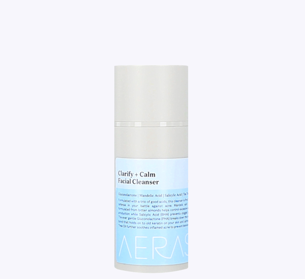 Cleanser AHA BHA PHA acne skincare