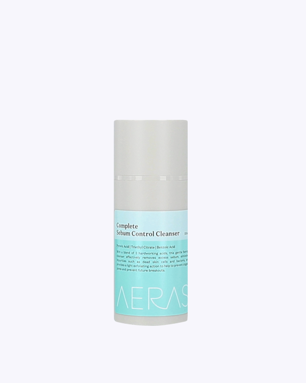 Cleanser skincare oily face acne