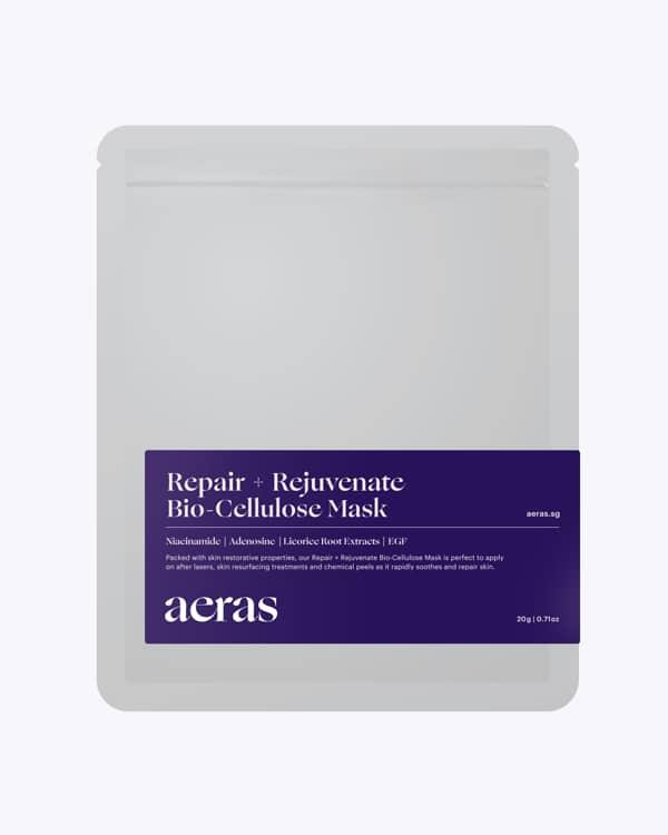 Hydrating repair sheet mask skincare routine